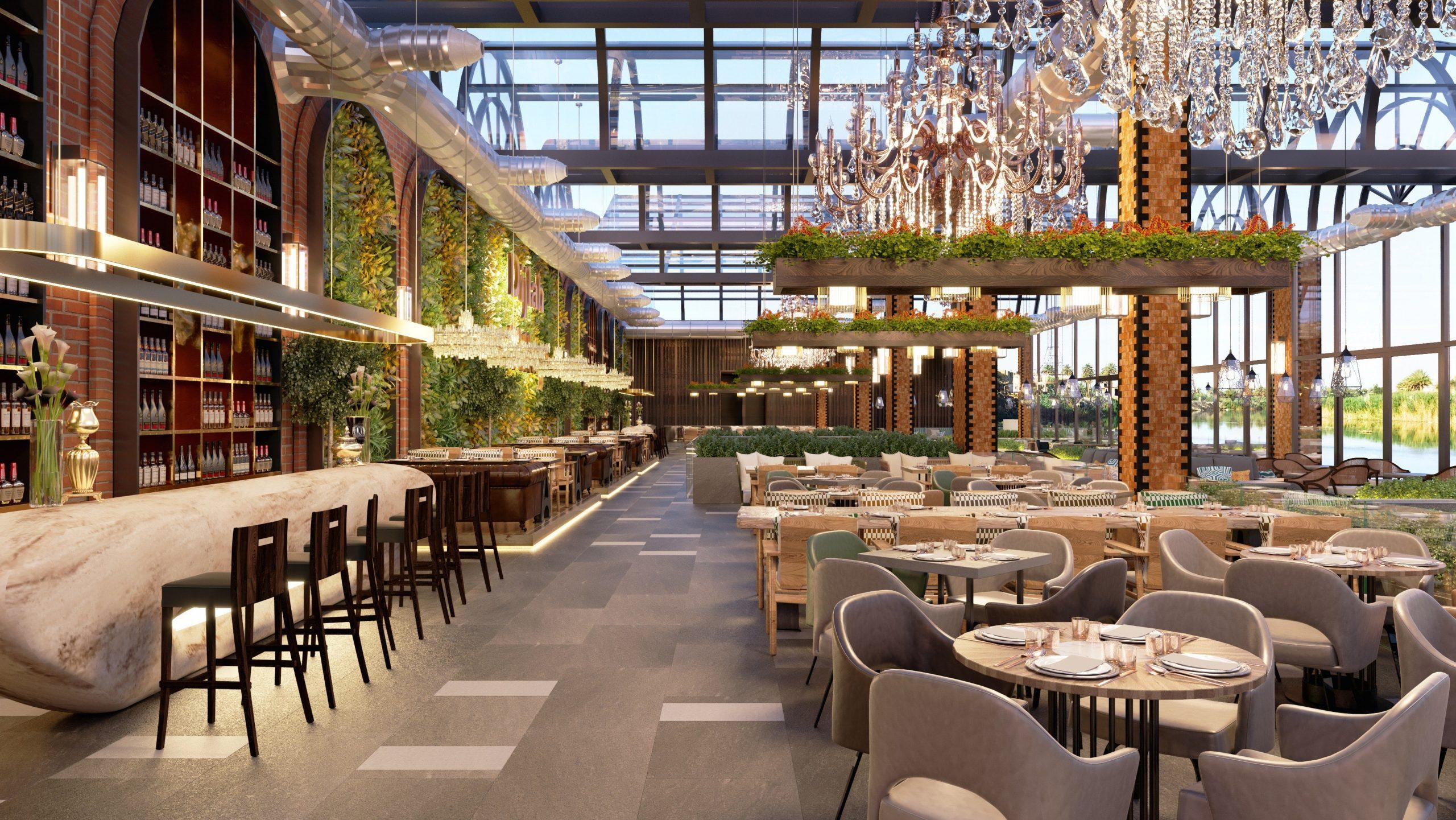 interieur hotel restaurant