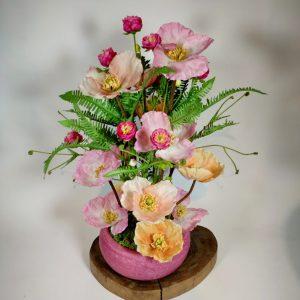 Bouquet pavots2, vegetaltrend