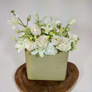 Bouquet roses, vegetaltrend